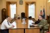Вопросы обеспечения правопорядка обсудил врио губернатора с командующим Северо-Западным округом войск национальной гвардии РФ