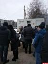 Передвижной флюорограф работает сегодня у псковской поликлиники №3