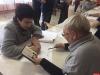 Сенатор Елена Бибикова на выборах губернатора Псковской области проголосовала вместе с супругом
