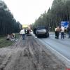 В лобовом столкновении на трассе в Стругокрасненском районе погибли два человека