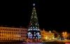 Движение временно ограничат в новогоднюю ночь на Октябрьской площади