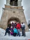 В Пскове состоялась первая в этом году волонтерская лыжная экскурсия по малоизвестным достопримечательностям