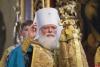 Губернатор Михаил Ведерников поздравил митрополита Евсевия с 80-летием