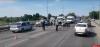 На мосту 50-летия Октября произошло ДТП с пострадавшими