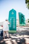 Город Псков украшается к Ганзейским дням нового времени. ФОТО