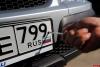 Российских водителей могут лишить прав за грязные номера