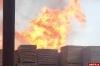 Мужчина получил множественные ожоги при пожаре на пилораме в Пскове