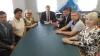 Представители Псковского облсовпрофа встретились с главой Палкинского района