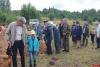 Сотрудники ИК-6 приняли участие в церемонии перезахоронения воинов, павших в годы Великой Отечественной войны, в Себежском районе