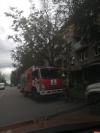 На задымление в квартире на Максима Горького в Пскове выехало 4 пожарных машины