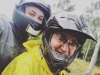 Российский телеведущий Дмитрий Дибров и его жена попали в аварию