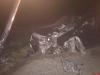 В Опочецком районе водитель уснул за рулем и въехал в опору ЛЭП