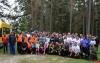 Областные соревнования по туризму среди педагогических работников прошли в Опочецком районе