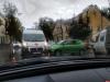 На улице Максима Горького в Пскове столкнулось несколько автомобилей