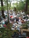 Военных подозревают в появлении кучи мусора у деревни Кислово Псковского района