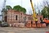 Водосвятный молебен с акафистом пройдет у строящегося храма преподобного Мартирия Зеленецкого в Великих Луках