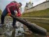 Странный предмет был обнаружен в реке Пскове