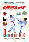 Региональный чемпионат и первенство по каратэ пройдет в «Олимпе» в субботу