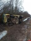 «Псковпассажиравтотранс»: ДТП в Новоржевском районе произошло на скользкой дороге под уклоном