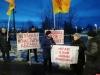 Очередной пикет против строительства АЗС провели псковские «справедливороссы» у Мирожского монастыря