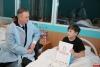 Представители псковского УМВД навестили в больнице детей, пострадавших в недавних дорожных авариях