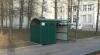 Благоустройство территории псковского ГКЦ завершили установкой контейнерной площадки