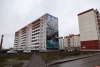 Фотофакт: Завершено создание мурала на доме по улице Генерала Маргелова