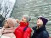 Юлия Пересильд похвалила коллег из Пскова за умение играть на «флейтах водосточных труб»