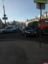 ДТП с грузовиком и иномаркой затруднило движение по Леона Поземского в Пскове