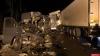 Уголовное дело возбуждено по факту смертельного ДТП на трассе в Пустошкинском районе. ФОТО С МЕСТА ДТП