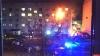 Пожар с «легким бабахом»: на Металлистов в Пскове горит квартира. ВИДЕО