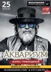 Легендарный Борис Гребенщиков и группа «Аквариум» выступят в Пскове 25 апреля