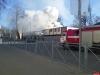 Аварийный режим работы обогревателя привел к пожару рядом с псковским музеем