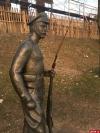 Памятник солдатам Первой мировой войны в Пскове вновь пострадал от вандалов