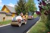 В печорской деревне Речки ремонтируют дорогу в рамках нацпроекта БКАД
