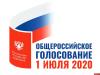 Начался основной день голосования по поправкам в Конституцию РФ