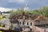 Фотофакт: Гельдтова баня в Пскове лишилась кровли