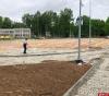 Обустройство дренажа начали строители физкультурно-оздоровительного комплекса в Пскове