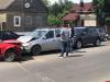 Три автомашины столкнулись на Красноармейской набережной в Пскове