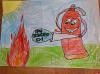 Самокат получит победитель конкурса рисунков от службы помощи при храме Василия на Горке