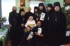 Началась видеотрансляция литургии из Успенского храма Псково-Печерского монастыря