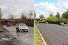 Работы на объездной дороге под Октябрьским виадуком завершены на месяц раньше срока. ФОТО