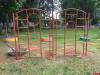 Исправительное учреждение изготовило оборудование для детской площадки в Середке