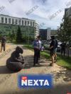 Ждун преследовал милиционеров в Минске