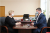 Стимулирование профсоюзных активистов обсудил Игорь Иванов с Еленой Косенковой