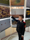 «Мир верхового болота» показали великолукским кадетам