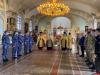 Псковские росгвардейцы приняли участие в молебне о здравии героя России Анатолия Романова