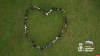В Пскове волонтеры изобразили пульсирующее сердце
