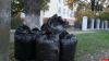 В Пскове продолжается уборка территорий воинских захоронений