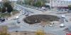 Новый газон на перекрестке Инженерной и Индустриальной в Пскове оборудован бордюром